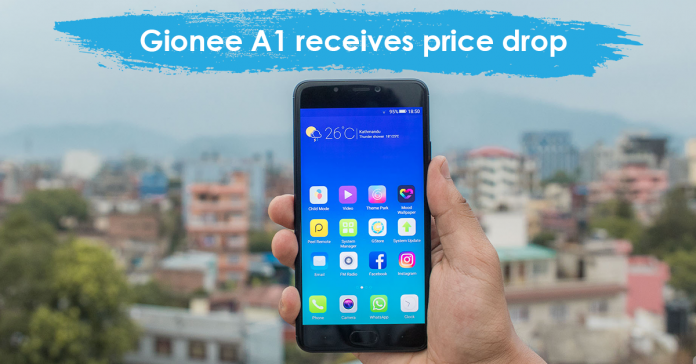 Gionee A1 latest price