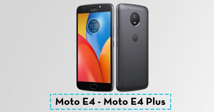 Moto E4 E4 Plus