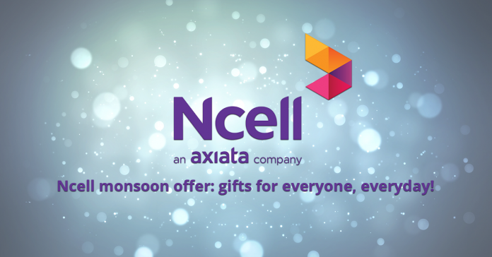 Ncell Monsoon Offer 2017