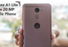 Gionee A1 Lite review Fea