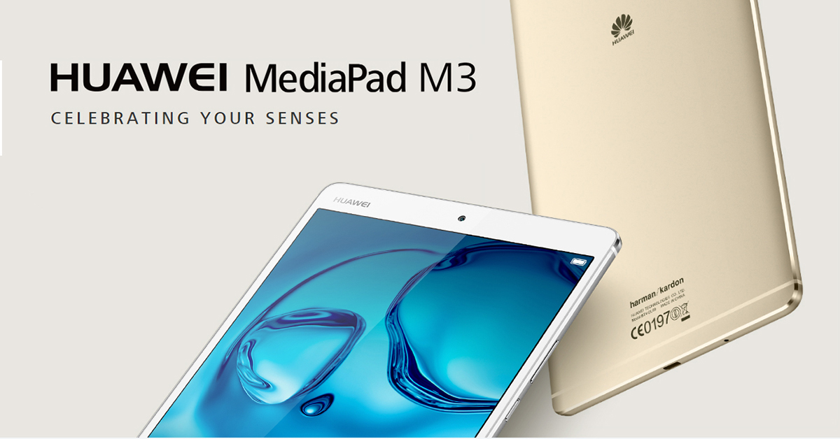 huawei releases mediapad m3 lite 8 0 tablet with harman kardon speakers gadgetbyte nepal. Black Bedroom Furniture Sets. Home Design Ideas