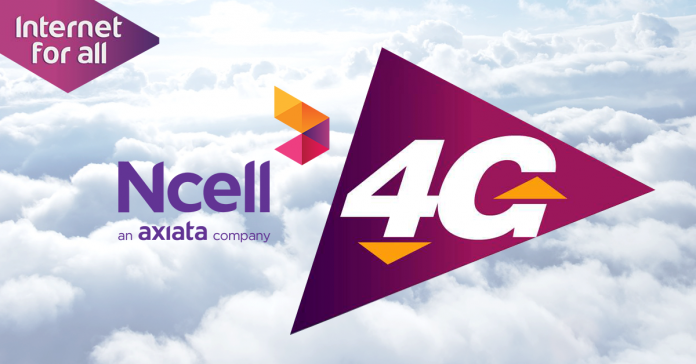 activate ncell 4g