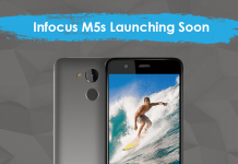 infocus m5s design