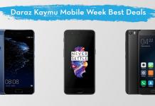 daraz kaymu mobile week