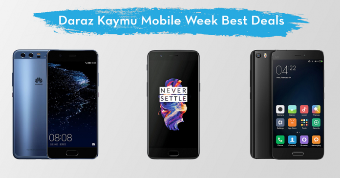 daraz kaymu mobile week