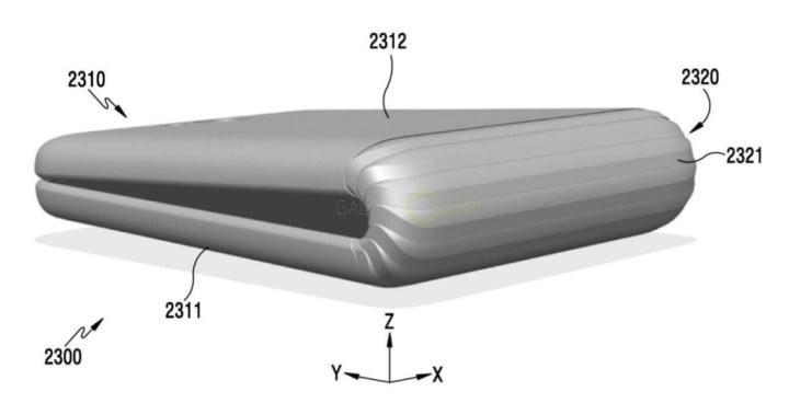 Galaxy X patent gadgetbyte nepal