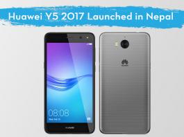 Huawei Y5 2017 Nepal Price Specs
