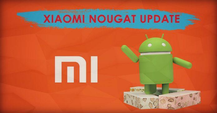 Xiaomi Nougat update list gadgetbyte nepal