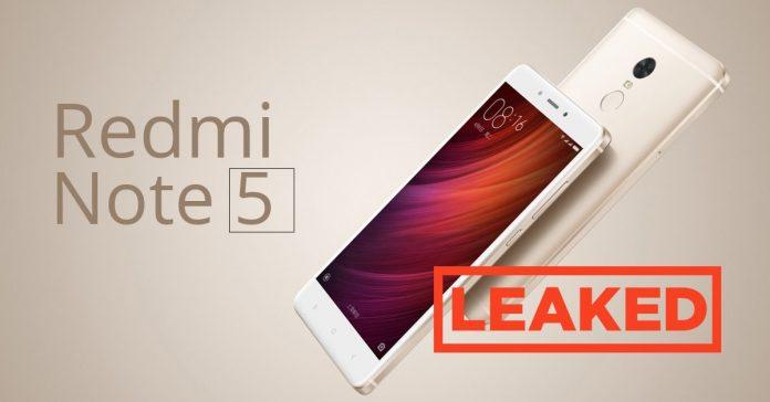 Xiaomi redmi note 5 leak gadgetbyte nepal