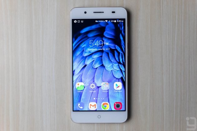 ZTE Blade A2 Plus Home Screen