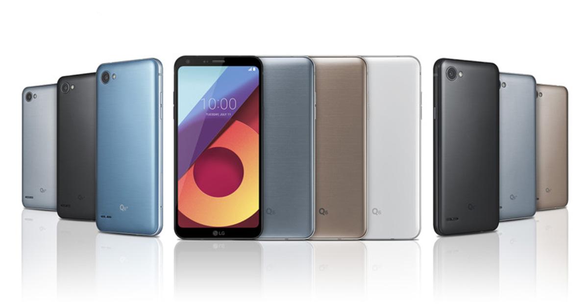 0d9051ec4 LG announces the LG Q6 along with Q6a and Q6 Plus – GadgetByte Nepal