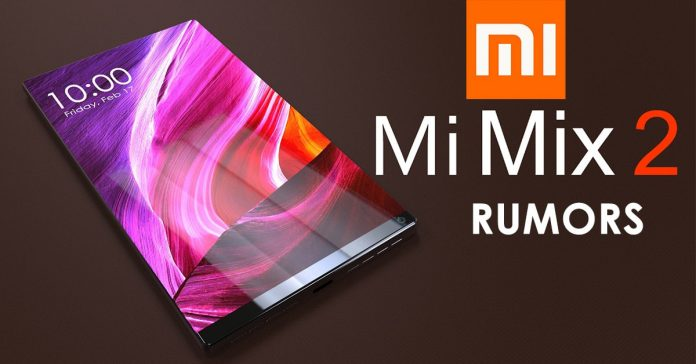 Xiaomi Mi Mix 2 rumors specs price nepal gadgetbyte