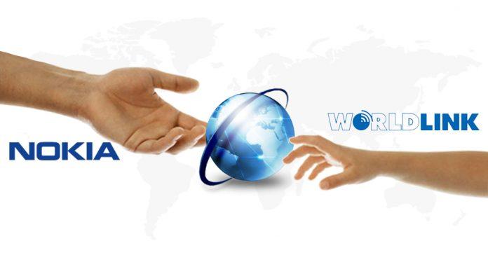 nokia worldlink high speed internet partnership nepal