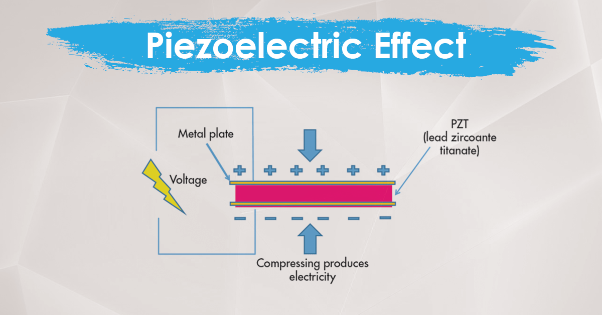 piezo electricity effect