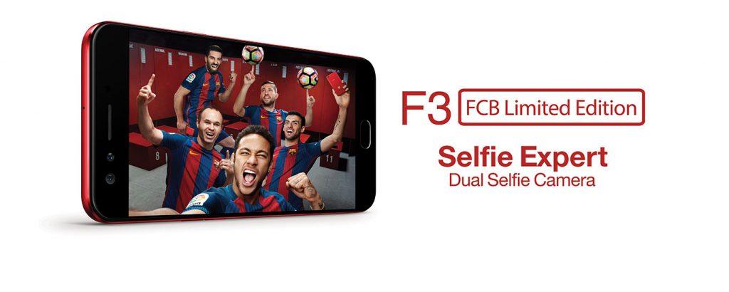 oppo f3 fcb edition gadgetbyte nepal specs price nepal