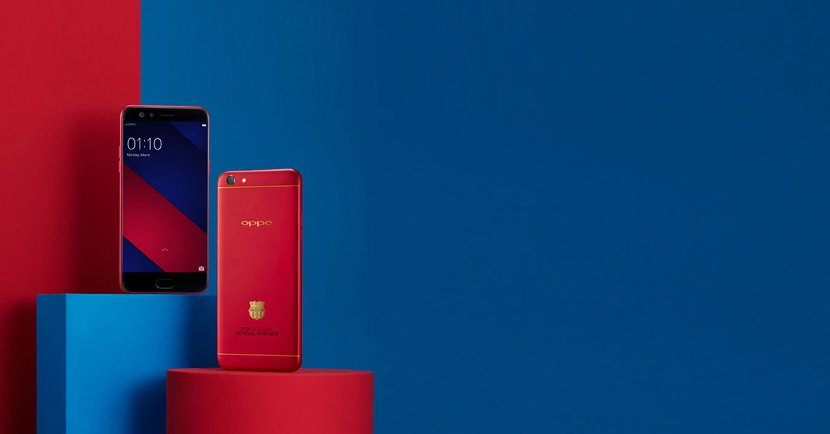 Oppo F3 Barcelona Edition Price In Nepal Oppo For Fcb Fans