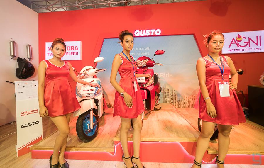 MAHINDRA Gusto 125 price in nepal nada autoshow