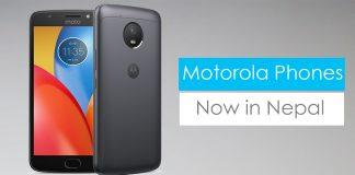 Motorola phones price specs features nepal
