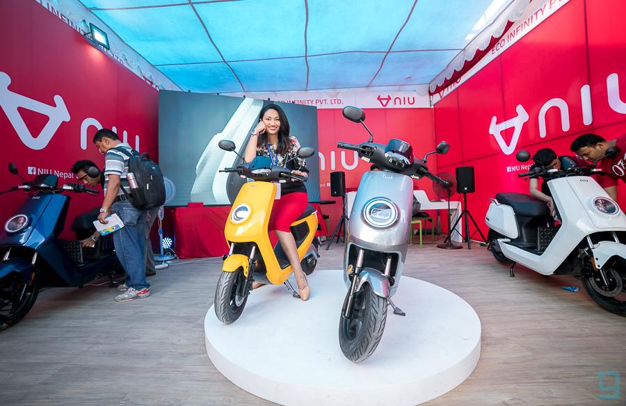 NIU scooters Price in nepal nada autoshow