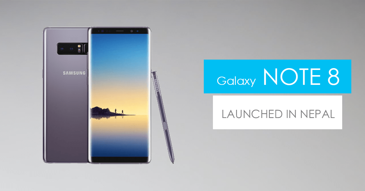 samsung galaxy note 8 price in nepal specs hands on review. Black Bedroom Furniture Sets. Home Design Ideas