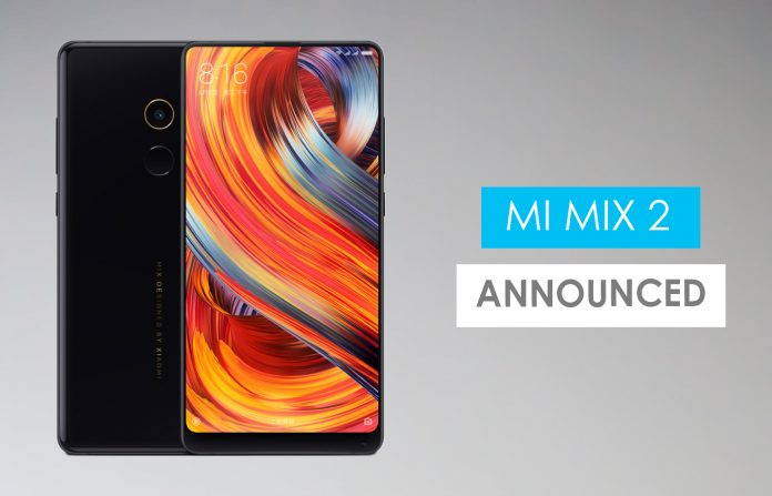 Xiaomi Mi Mix 2 Price in Nepal - GadgetByte Nepal