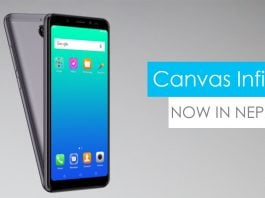 micromax canvas infinity price nepal specifications features