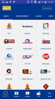 wow time iptv ntc gadgetbyte nepal
