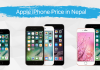 Apple iPhones price in nepal