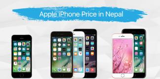 Apple iPhones price in nepal