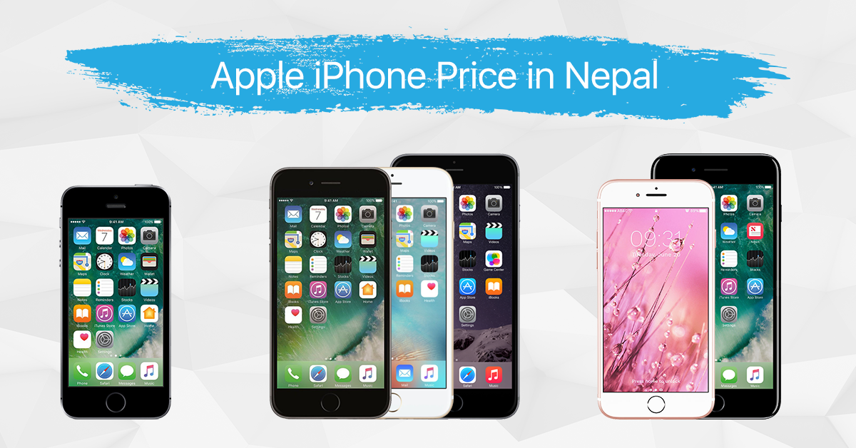 Apple iPhones price in Nepal | iPhone Xs, iPhone Xs Max ...