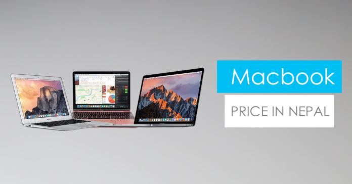 apple macbook price in nepal