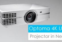 optoma 4k LED projector