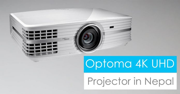 optoma 4k LED projector