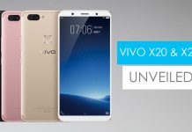 vivo x20 and x20 plus price featrues nepal