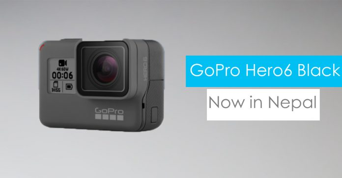 GoPro Hero6 Black Price in Nepal