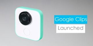Google Clips Launched