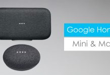 Google Home Mini Max features price specs