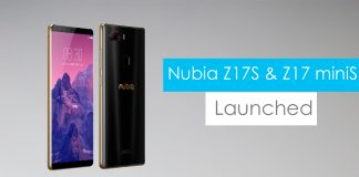 Nubia Z17S and Nubia Z17 miniS launched with four cameras
