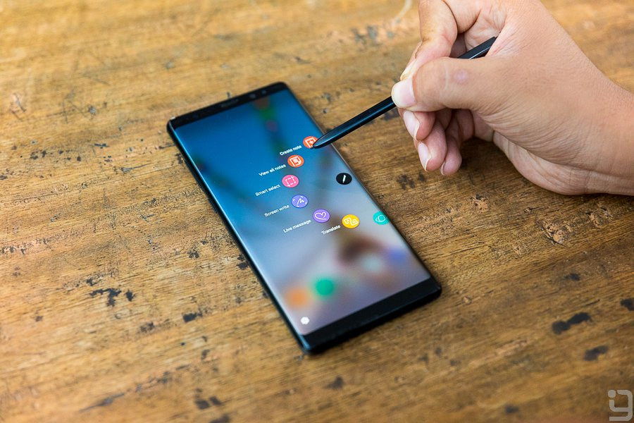 S Pen Features Samsung Galaxy Note 8 Nepal