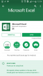 top microsoft apps microsoft excel screenshot android