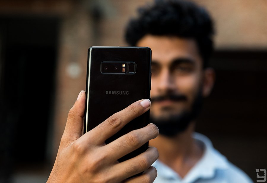 Security Galaxy Note 8 Nepal