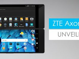 ZTE Axon M Foldable Display 2017