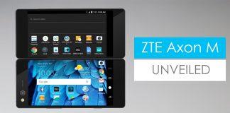 ZTE Axon M Foldable Display 2017