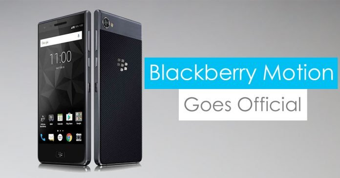 blackberry motion gadgetbyte nepal launched price
