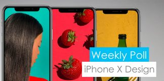 iphone x design poll