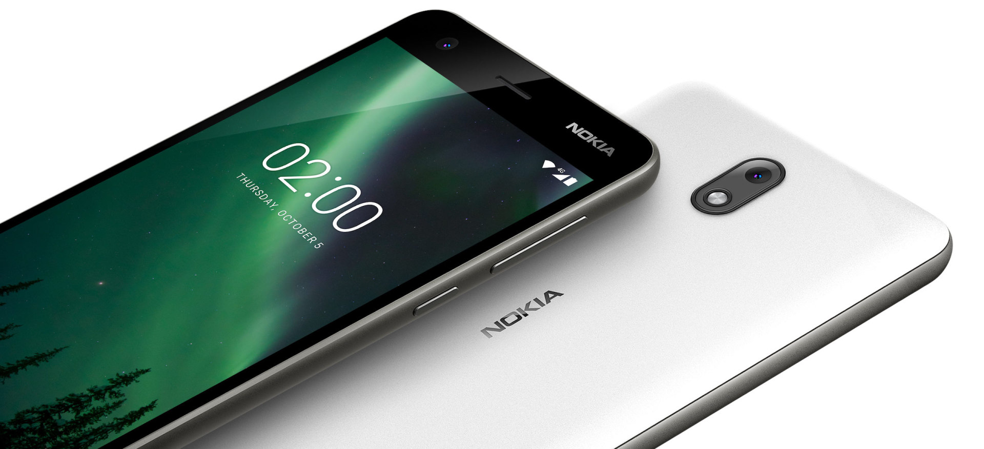 nokia 2 design display screen