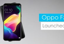 oppo f5 with ai-powered selfie camera and bezel-less display