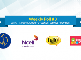weekly poll telecom provider nepal ncell ntc smartcell
