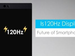 120hz display smartphone