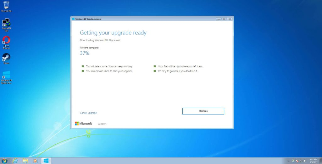 Windows 10 upgrade free gadgetbyte nepal